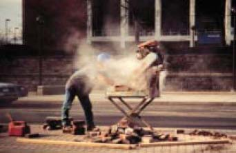 Elcosh what physicians need to know about silicosis in construction demolition and for Construction interior dust control