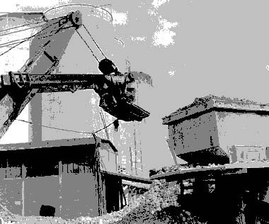 Figure 93.9 Mechanical excavation at a construction site in France