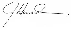 john howard, m.d signature