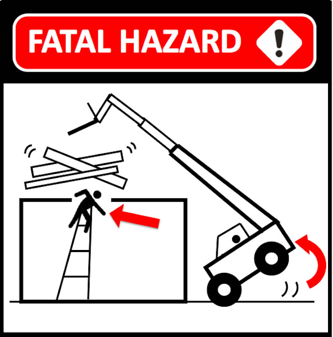 Fatal Hazard Warning Illustration