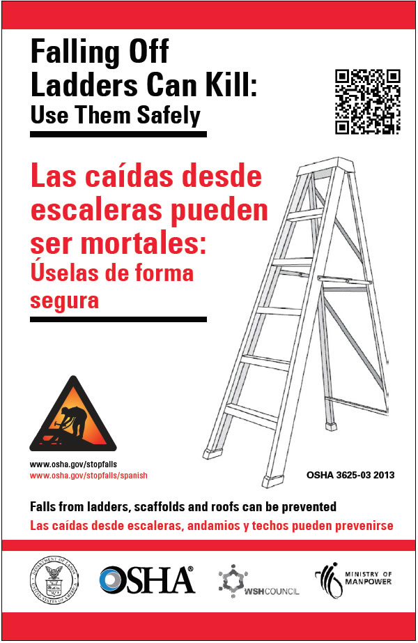 Roofing Safety Topics Amp Falling Off Ladders Poster Sc 1 St