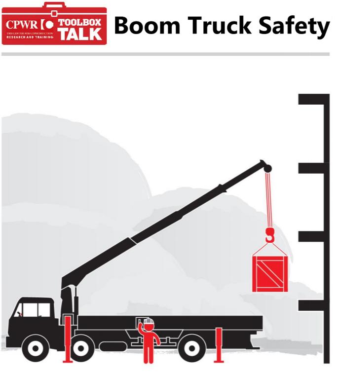 ELCOSH : Toolbox Talk: Boom Truck Safety