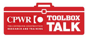 eLCOSH : Toolbox Talk: Housekeeping