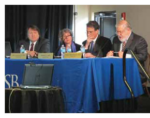 The Chemical Safety Board's Mark Griffon, Beth Rosenberg, Richard Loeb, and Rafael Moure-Eraso discuss recommendations related to the explosion at NDK Crystal.