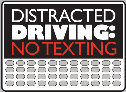 Graphic-Distracted driving no text
