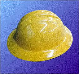 electricity hard hat