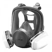 face shield with respirator