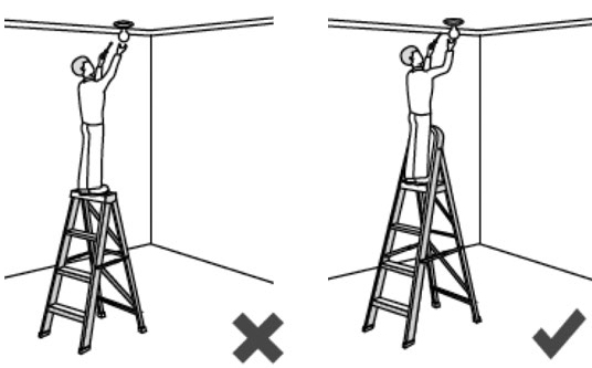Proper Ladder Use Bing Images