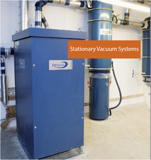 This is a picture of a Stationary Vcuum System