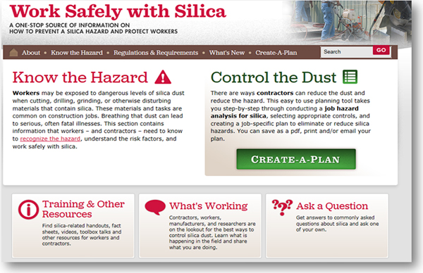 siica-safe.org website