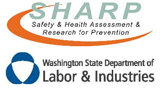 Logos for SHARP and Washington State Department of Labor & Industries