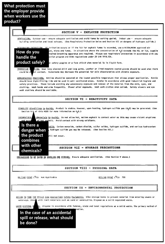 Spray Paint Msds Sheets Part - 34: MSDS Sheet Continued