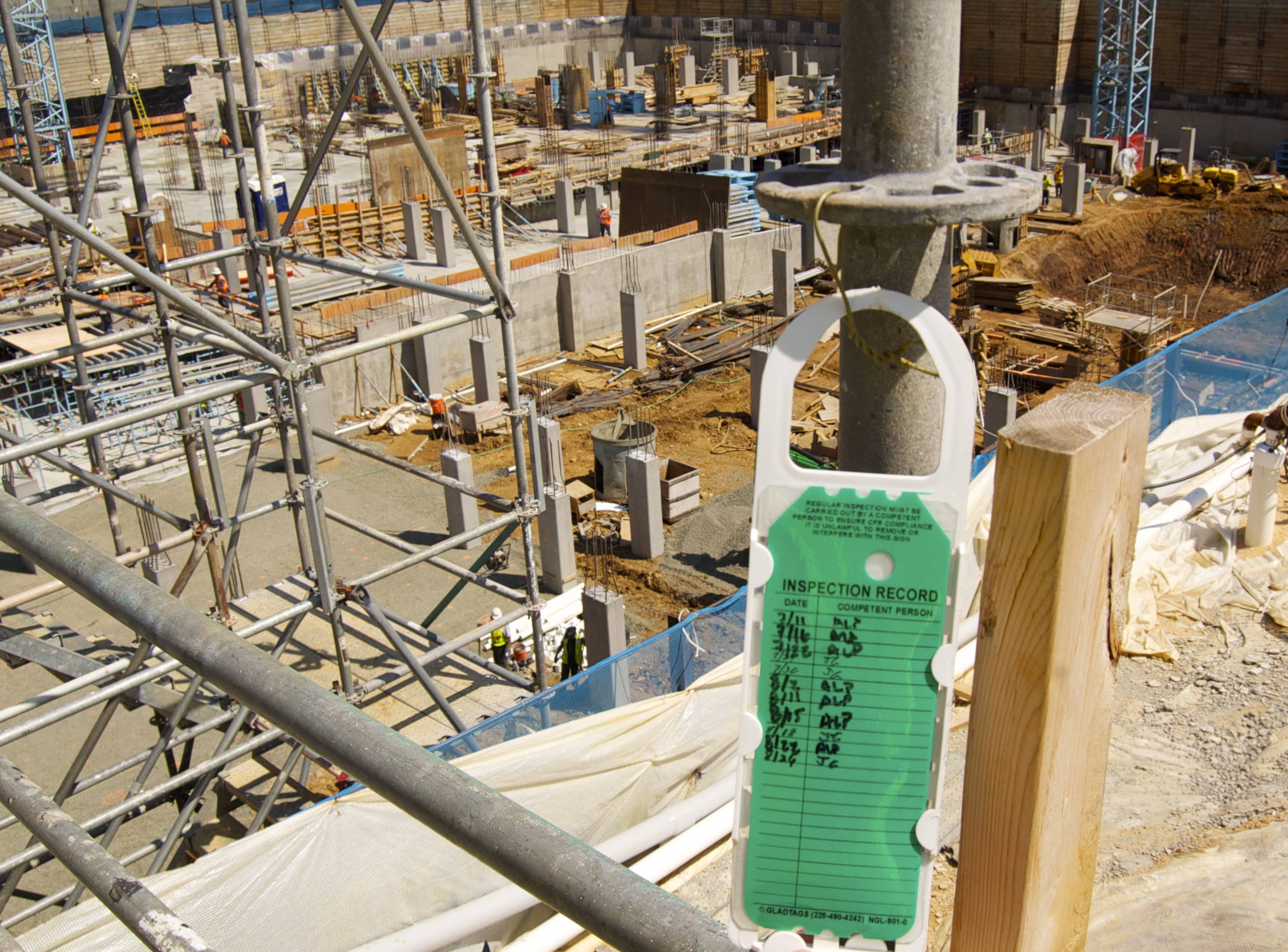Scaffold tag Competent Person